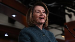 U.S. Speaker of the House Nancy Pelosi answers questions during her weekly media conference Jan. 10, 2019, in Washington, D.C.