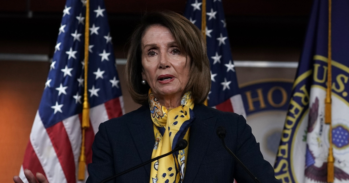 U.S. Speaker of the House Rep. Nancy Pelosi speaks during a weekly news conference Jan. 24, 2019, on Capitol Hill in Washington, D.C.