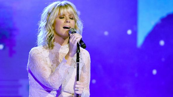 Natalie Grant performs onstage at the 5th Annual KLOVE Fan Awards at The Grand Ole Opry on May 28, 2017, in Nashville, Tennessee.