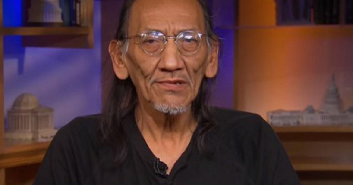 Native American activist Nathan Phillips.