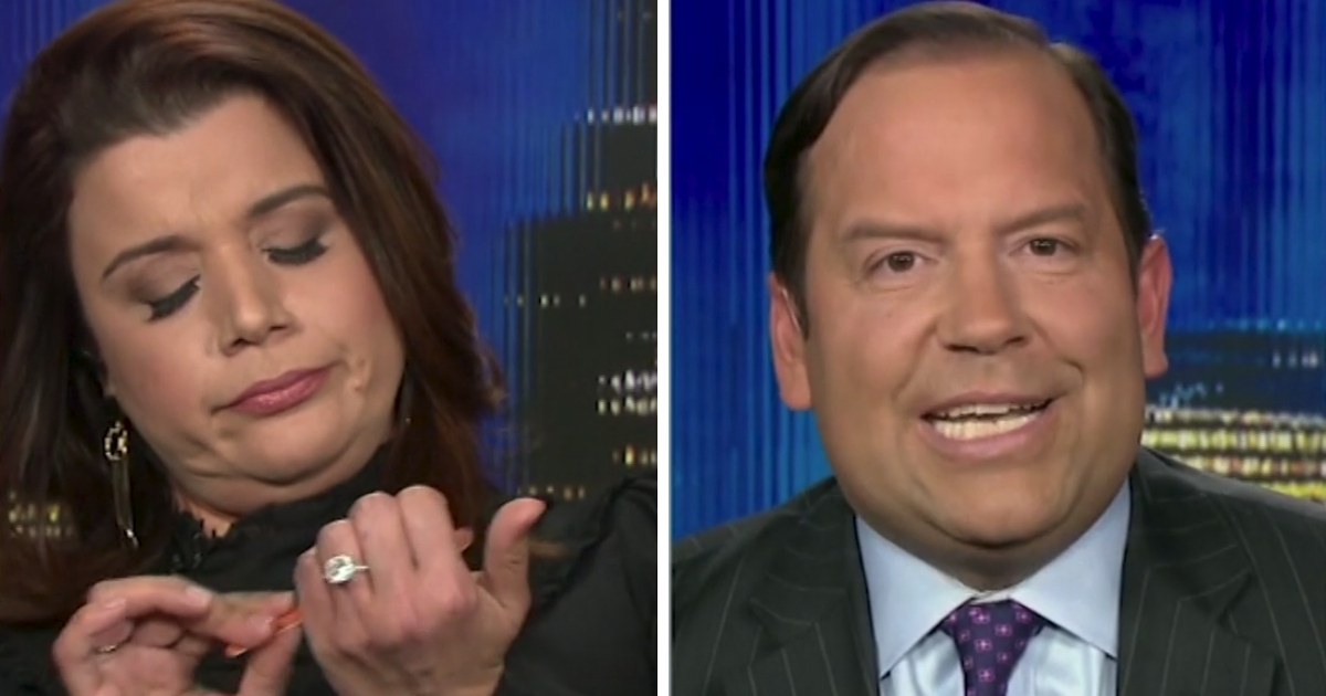 CNN's Ana Navarro Files Nails, Ignores Guest Who Brought Up Murder of Cop