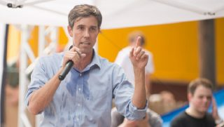 """Robert """"Beto"""" O'Rourke in a file photo from September."""