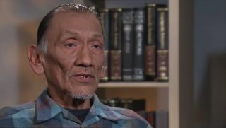 Omaha elder Nathan Phillips