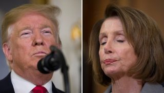 President Donald Trump and House Speaker Nancy Pelosi
