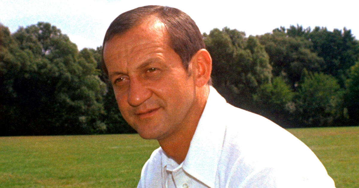 Rick Forzano is shown in 1974, when he was head coach of the Detroit Lions.
