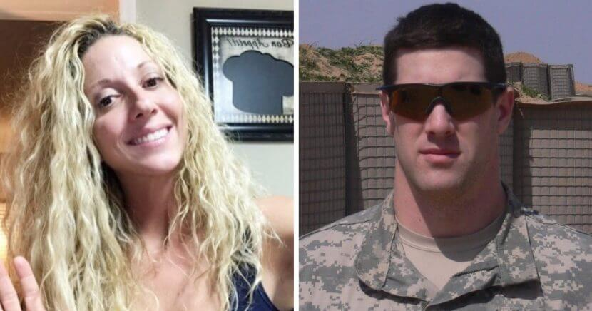 Former Army Sgt. Alex Somerson, right, and his wife, Shawna, left.