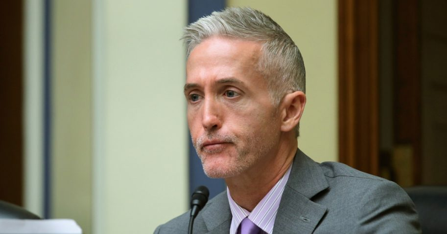 The House Oversight and Government Reform Committee's Select Committee on Benghazi Chairman Trey Gowdy questions witnesses about lapses in TSA screening in the Rayburn House Office Building on Capitol Hill Nov. 3, 2015, in Washington, D.C.
