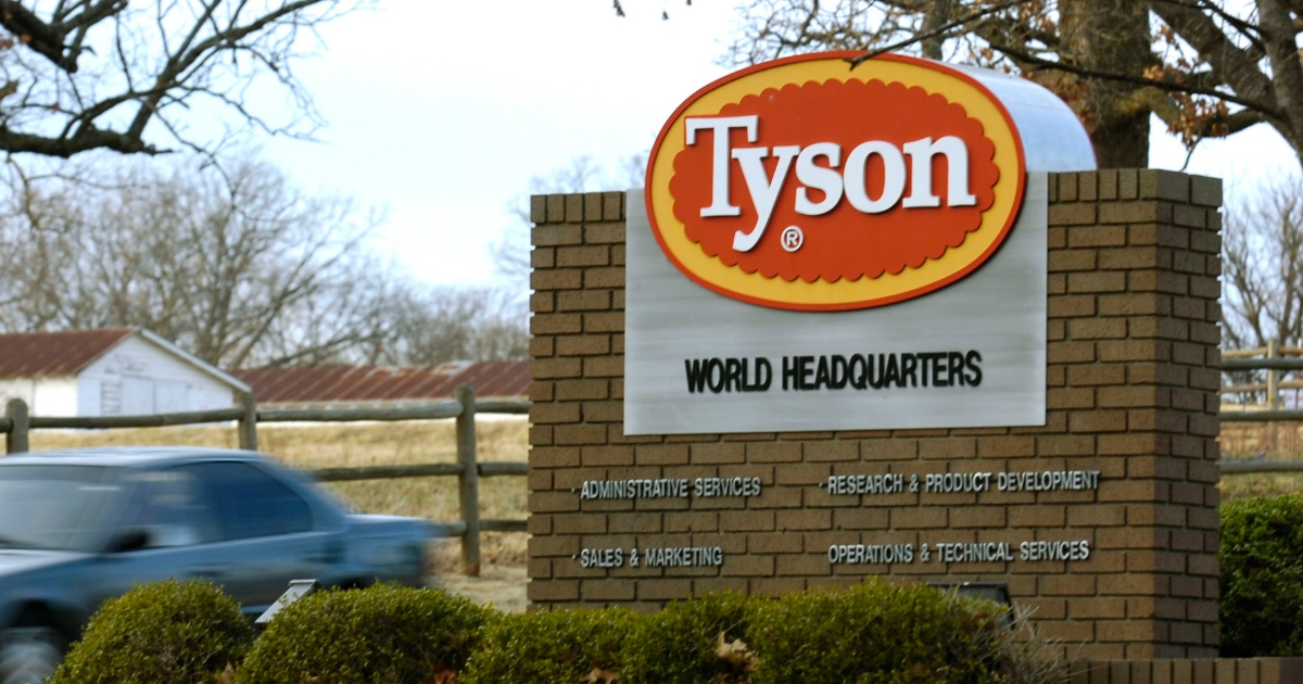 Tyson Foods Inc. in Springdale, Arkansas.