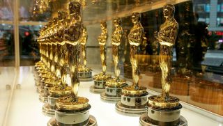 Newly minted Oscar statuettes to be presented to winners at the 78th Academy Awards are shown on display at ABC Times Square Studios on Jan. 23, 2006, in New York City.