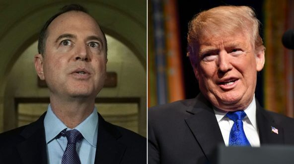 Rep. Adam Schiff / President Donald Trump