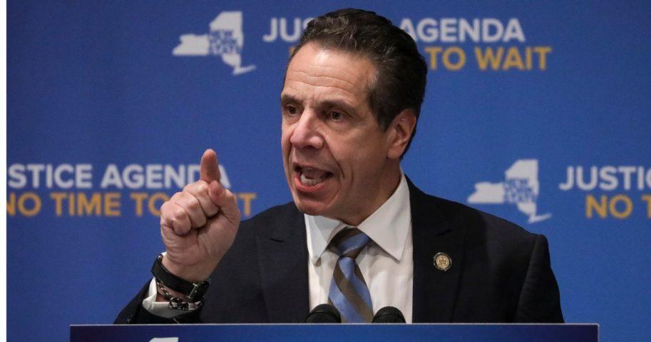New York Gov. Andrew Cuomo (