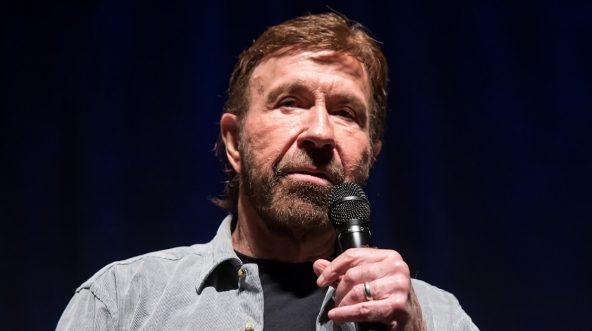 Martial artist/actor Chuck Norris