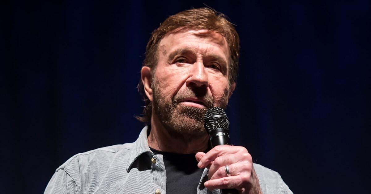 Chuck Norris Jumps Beh...