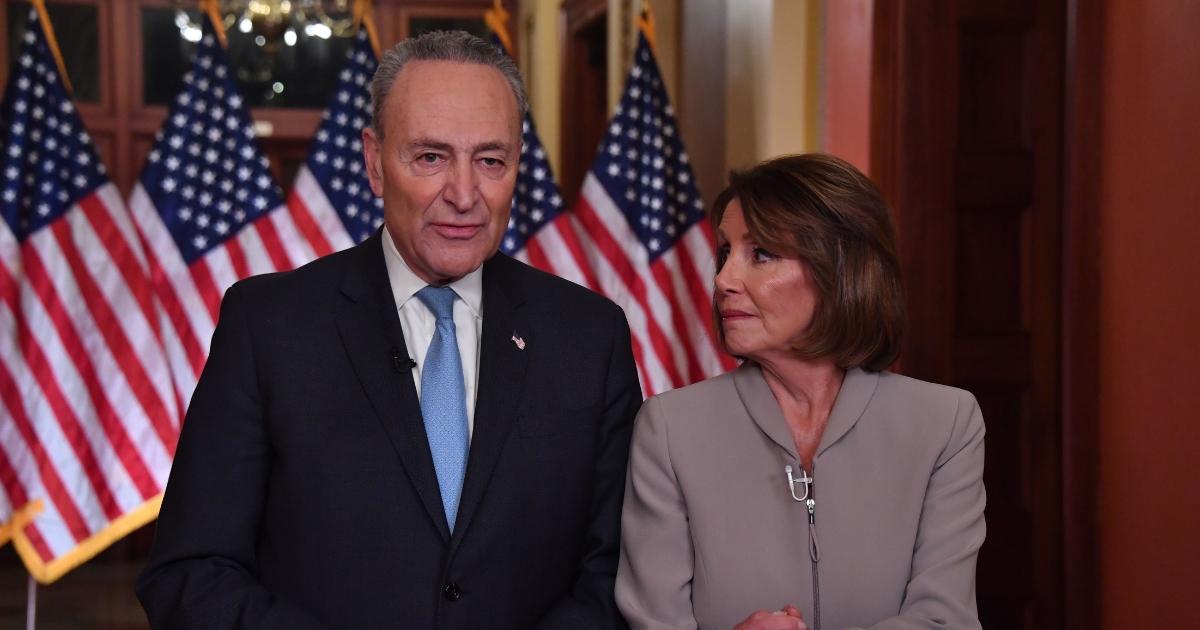 House Speaker Nancy Pelosi and Senate Democratic leader Chuck Schumer.