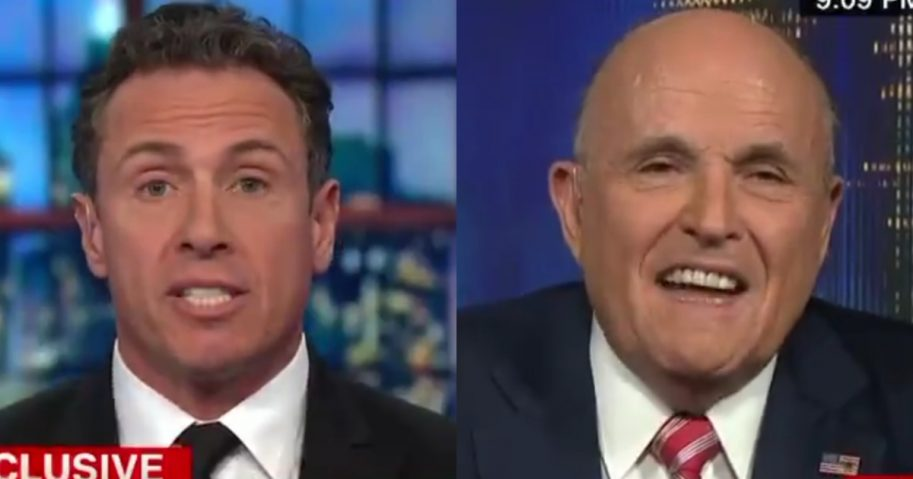 Chris Cuomo and Rudy Guiliani