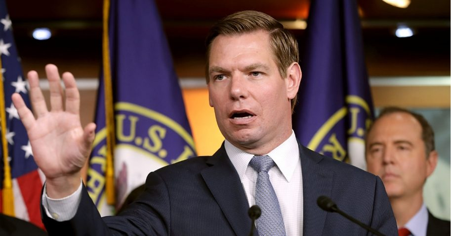 House Intelligence Committee member Rep. Eric Swalwell