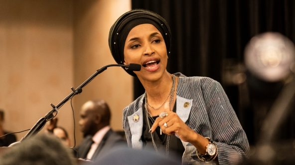Minnesota Democratic Congresswoman Ilhan Omar