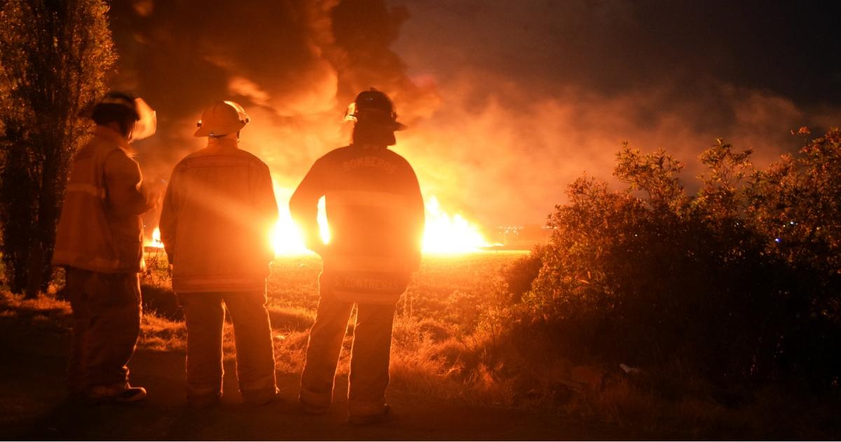 Mexico pipeline fire