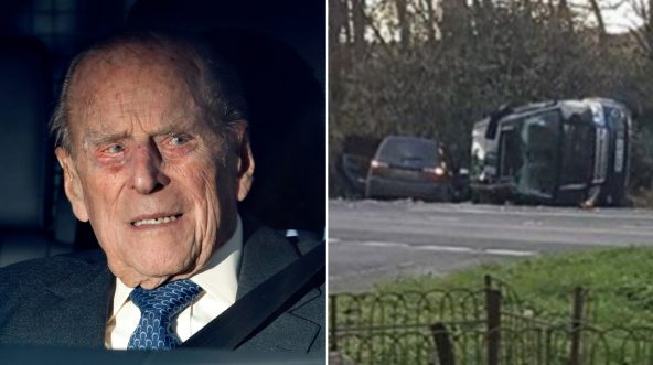 Prince Philip / car accident