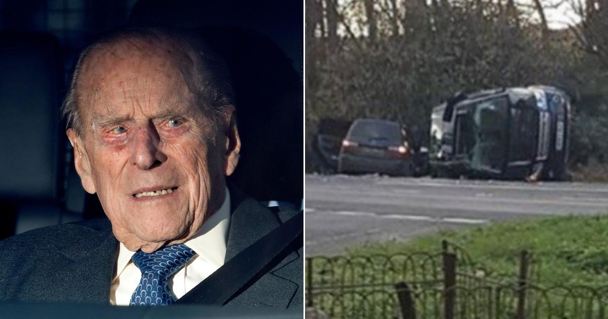 Prince Philip / car accident