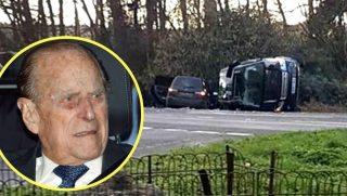 Prince Philip in car crash