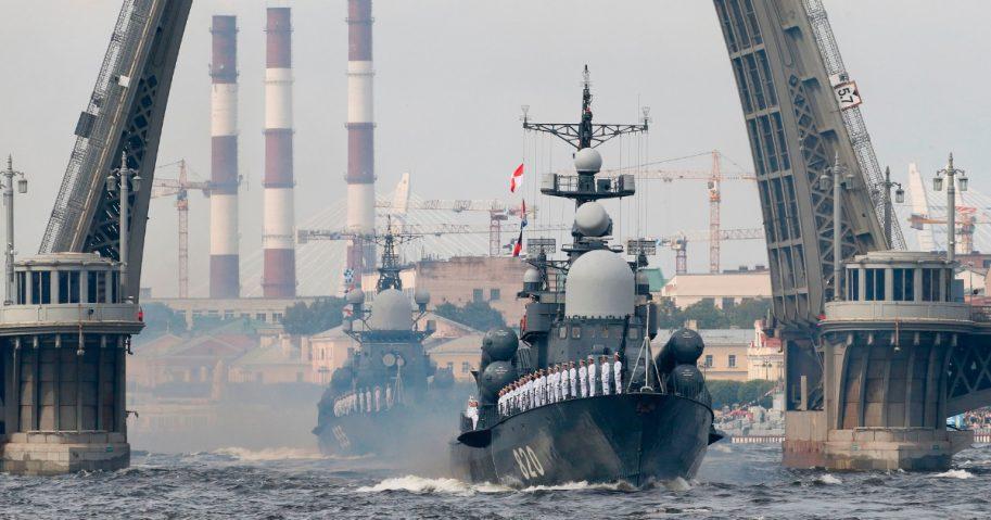 Russian boats