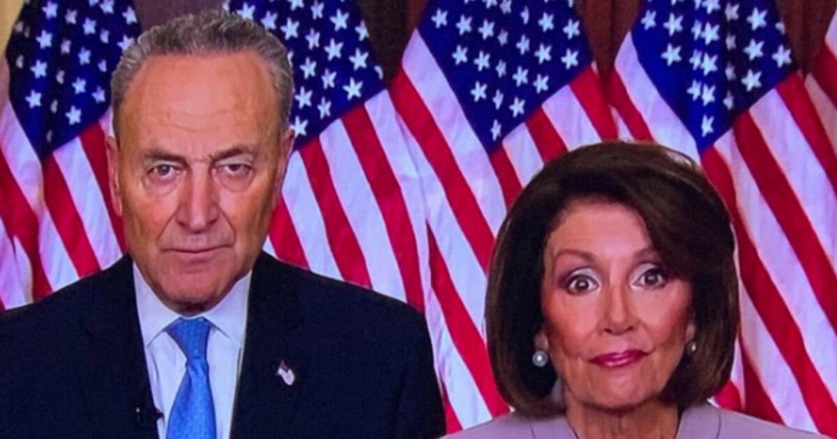 Image result for pelosi schumer creepy
