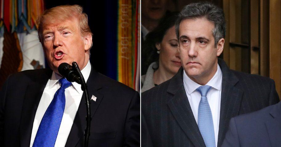 President Donald Trump / Michael Cohen