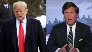 President Donald Trump / Tucker Carlson
