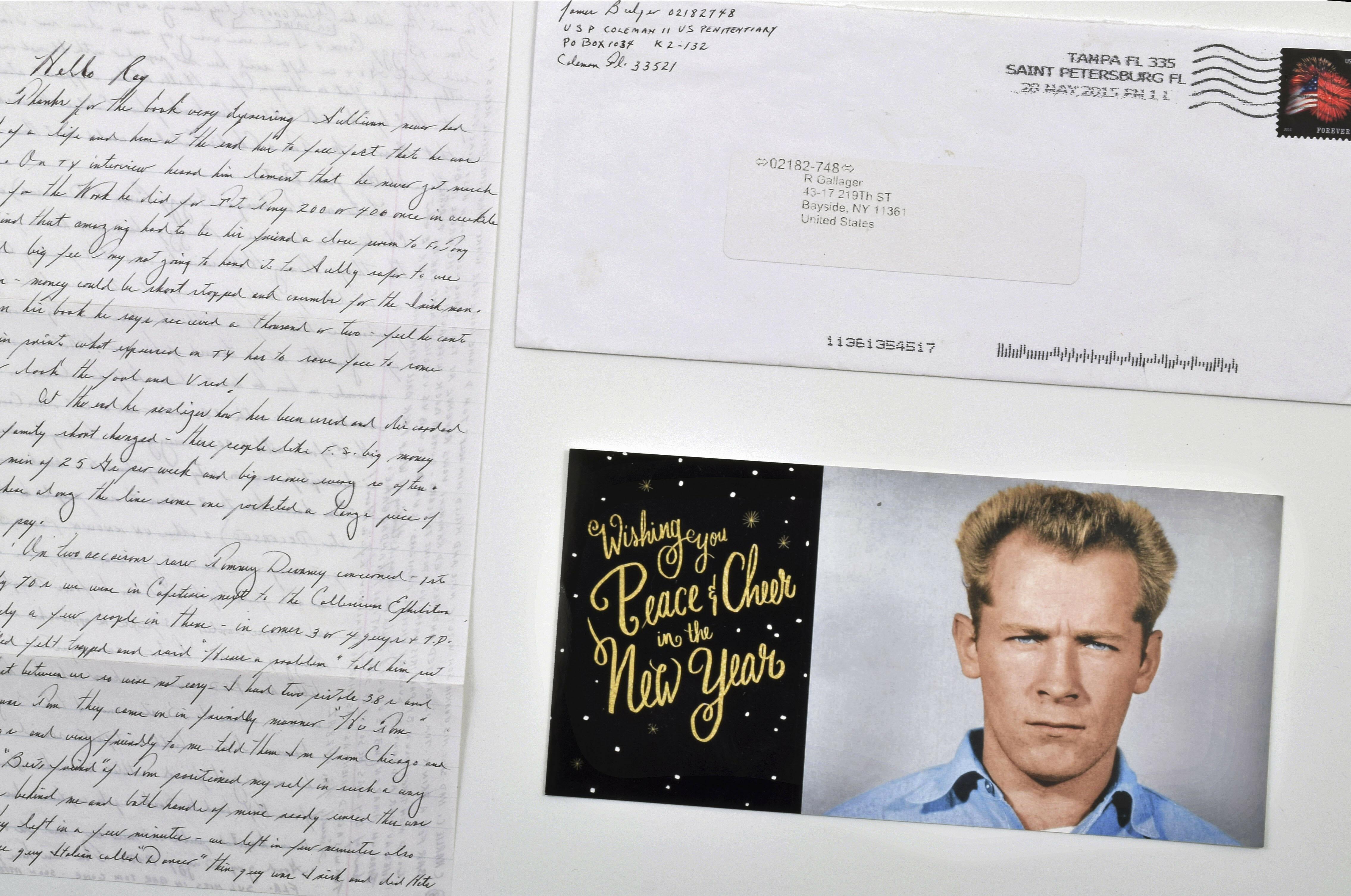 Whitey Bulger Letters-Auction