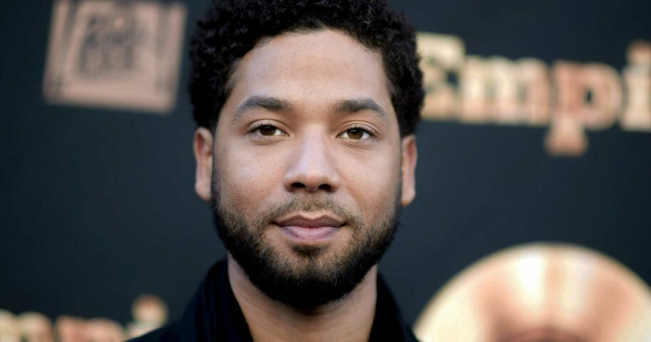 """In this May 20, 2016, file photo, actor and singer Jussie Smollett attends the """"Empire"""" FYC Event in Los Angeles."""