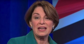 Sen. Amy Klobuchar talks about President Donald Trump during her CNN town hall event.