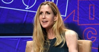 Ann Coulter speaks onstage at Politicon 2018 at Los Angeles Convention Center on Oct. 20, 2018, in Los Angeles, California.