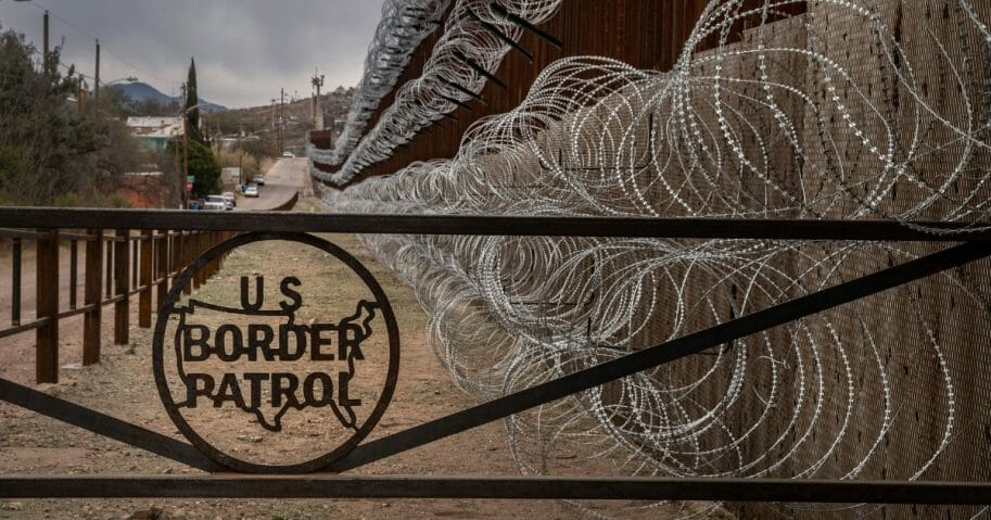 Border Patrol gate
