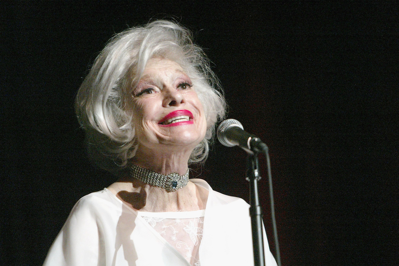 Singer Carol Channing