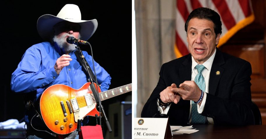 Charlie Daniels and New York Governor Andrew Cuomo