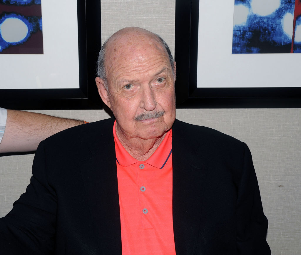 Gene Okerlund attends Chiller Theater Expo Winter 2017