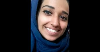This undated image provided by attorney Hassan Shibly shows Hoda Muthana, an Alabama woman who left home to join the Islamic State after becoming radicalized online. Muthana realized she was wrong and now wants to return to the United States, Shibly, a lawyer for her family said Tuesday, Feb. 19, 2019.