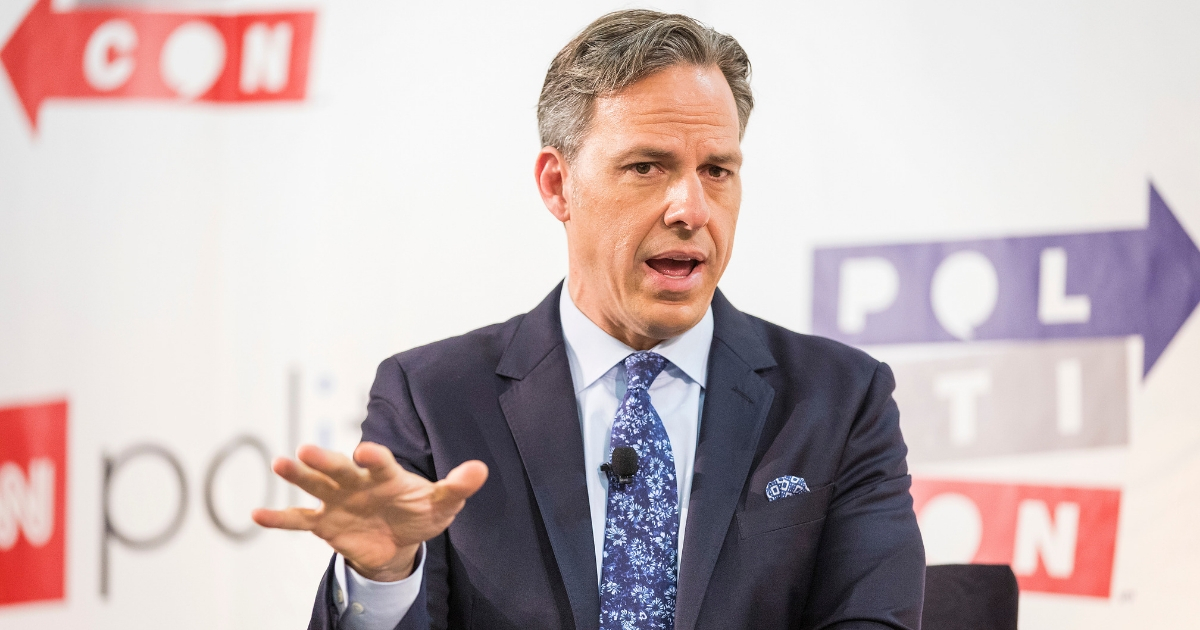 Jake Tapper attends Politicon at The Pasadena Convention Center.