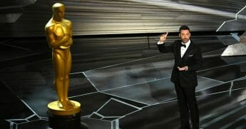 Host Jimmy Kimmel speaks onstage during the 90th Annual Academy Awards at the Dolby Theatre at Hollywood & Highland Center on March 4, 2018 in Hollywood, California.