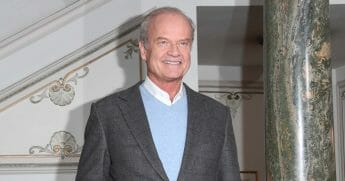Kelsey Grammer attends a photocall for 'Man Of La Mancha' at London Coliseum on Feb. 19, 2019, in London, England.