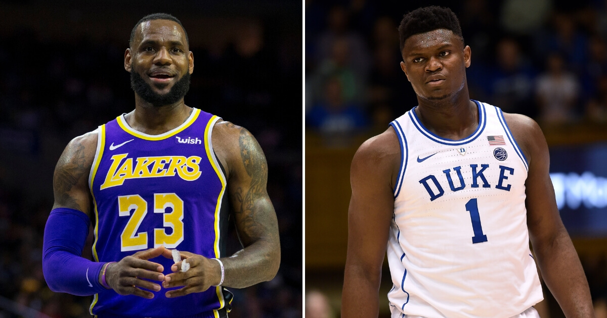 LeBron Somehow Ends Up Playing Race Card While Speaking Out on Duke Sensation Zion Williamson