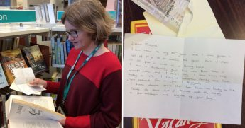 Librarian Finds Letter