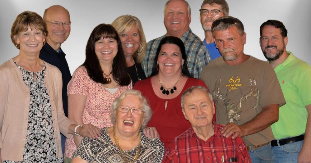 A large adoptive family.