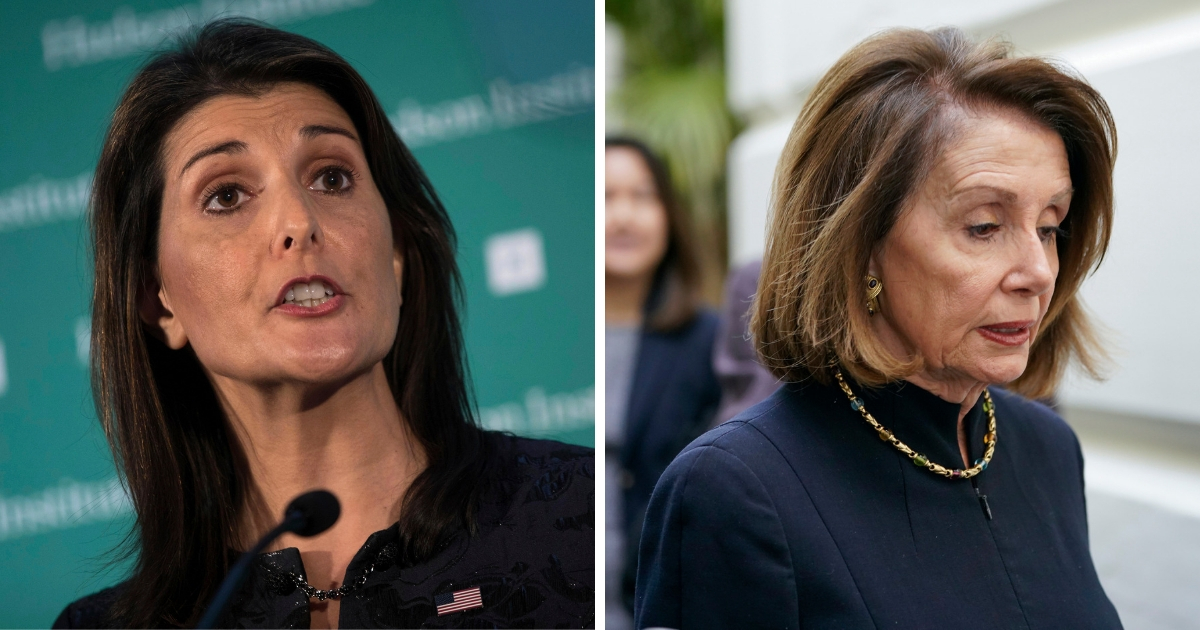 Haley Responds to Pelosi's Climate Committee: Does Protecting God's Creation Include Babies?