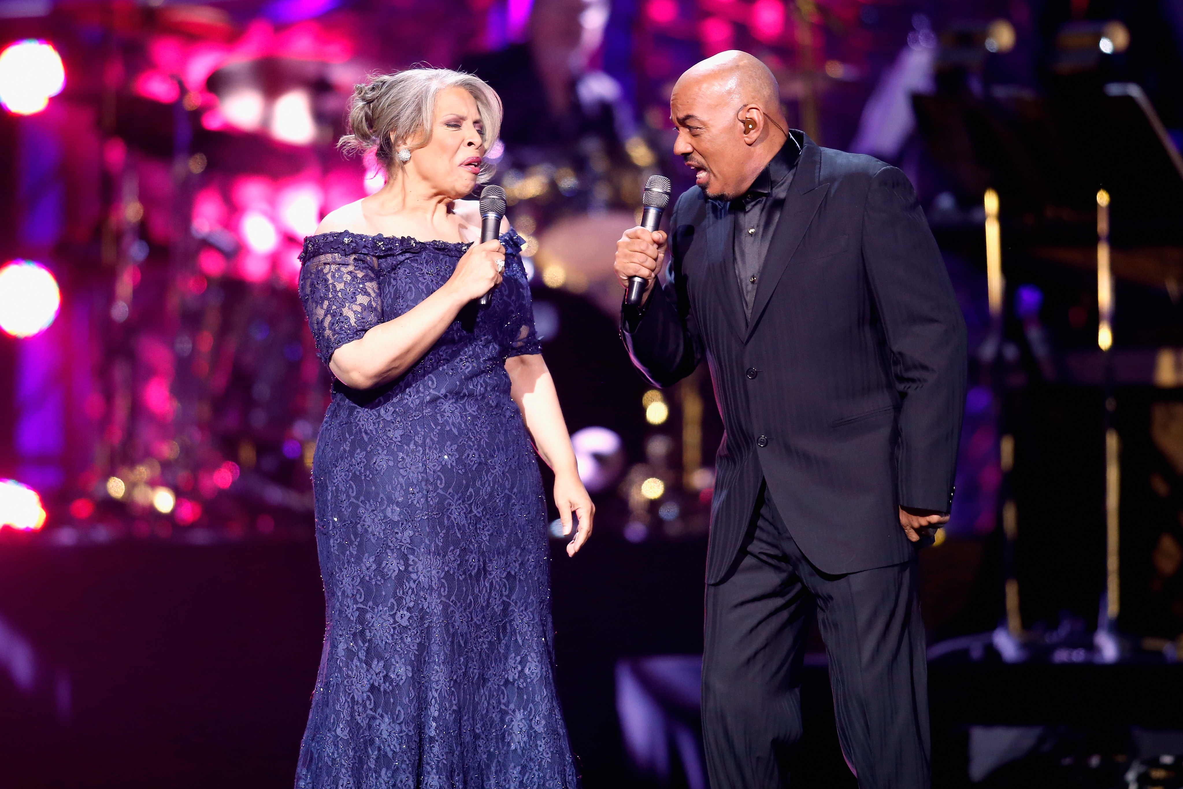 Recording artists Patti Austin and James Ingram