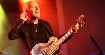 Peter Frampton performs onstage at the TEC Awards during the 2019 NAMM Show at the Hilton Anaheim on Jan. 26, 2019, in Anaheim, California.