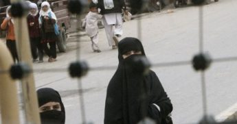 Woman in Islamic headcover seen in Afghanistan. The war-torn country has also been host to invading Islamic State militants.