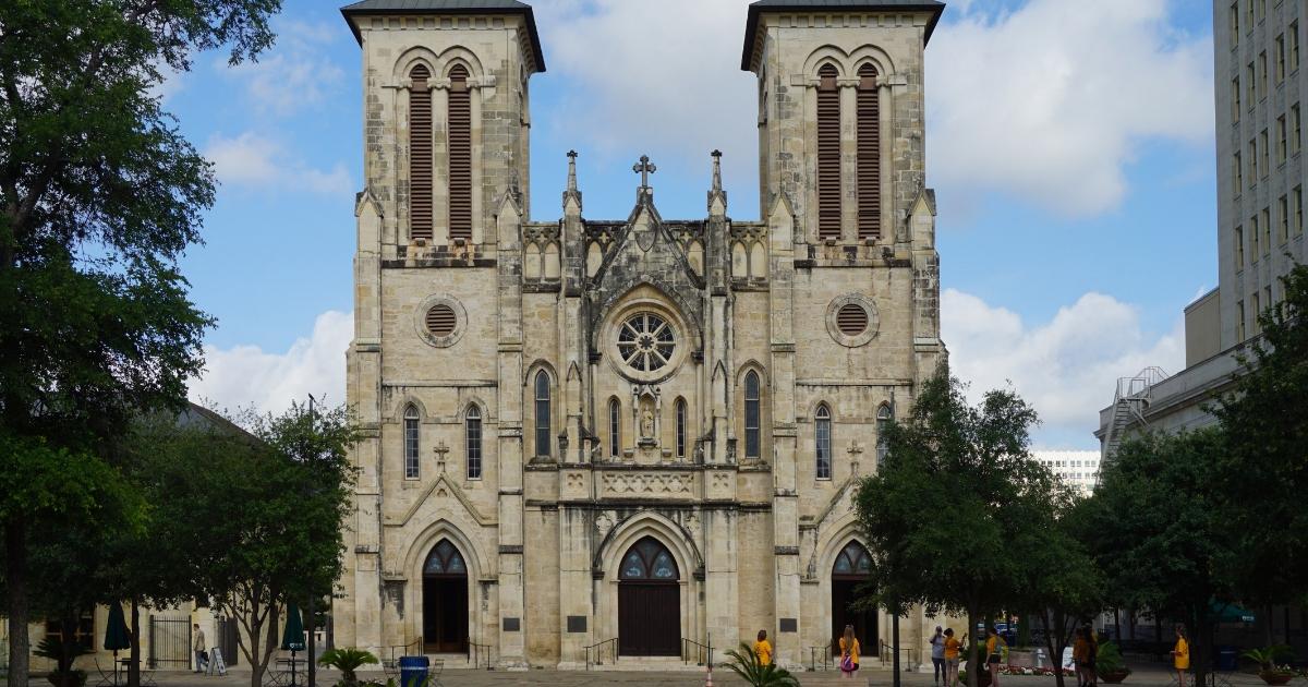 San Fernando Cathedral in San Antonio, Texas.