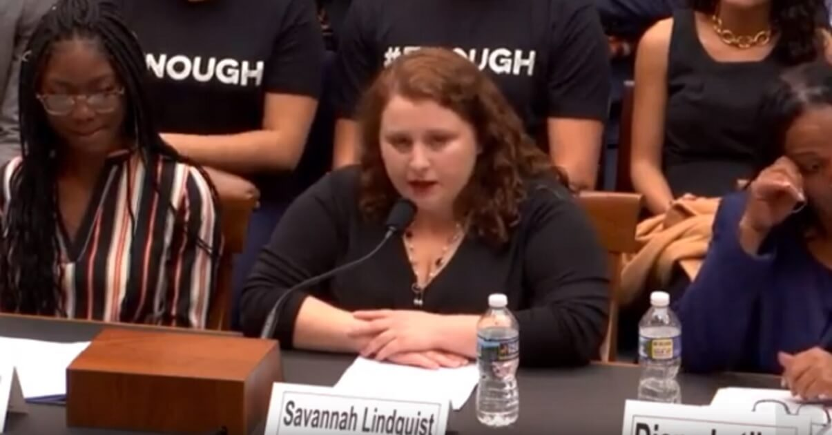 Rape Victim Bravely Tells Congress How Gun Control 'Shattered' Her Life